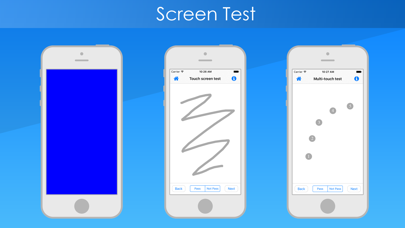 Test & Check for iPhone Screenshots