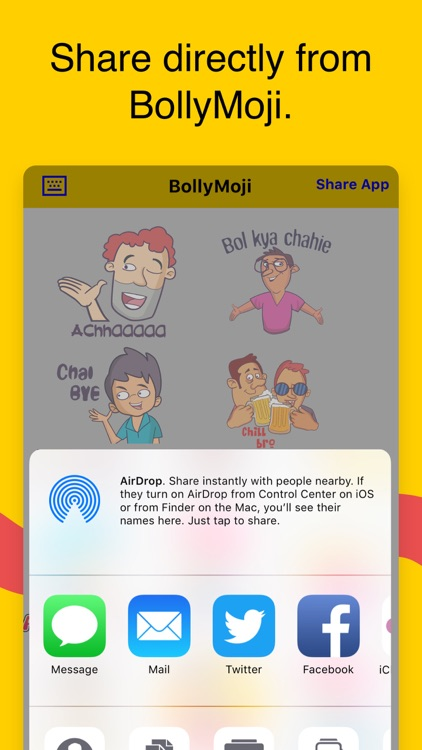 BollyMoji - keyboard & emojis screenshot-2