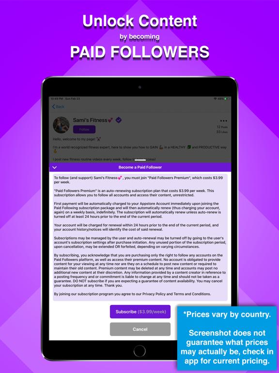 Paid Followers screenshot 4