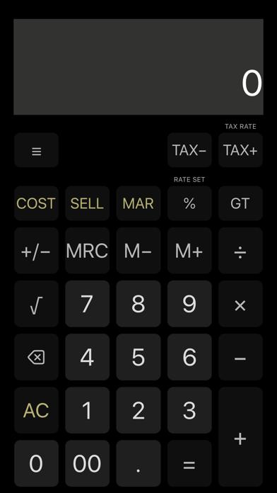 Screenshot of iCalc: Calcolatrice generale2