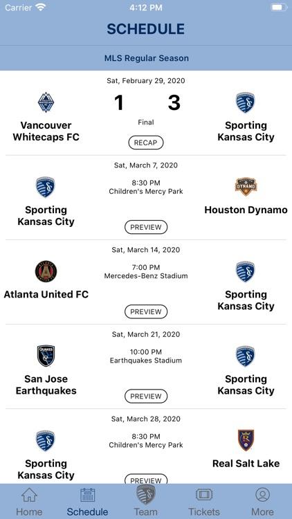 Sporting KC - Official App screenshot-3