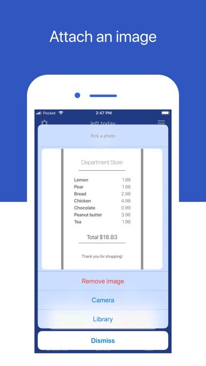 Pocket - Simple Budget Tracker screenshot-7