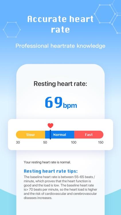 Heart Rate Me-Home Pulse Track screenshot-7