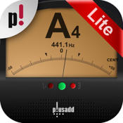 Tuner Lite by plusadd – The Ultimate Free Chromatic Tuner for Guitar, Bass, Ukulele  and Violin icon