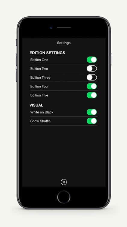 Oblique Strategies SE screenshot-4