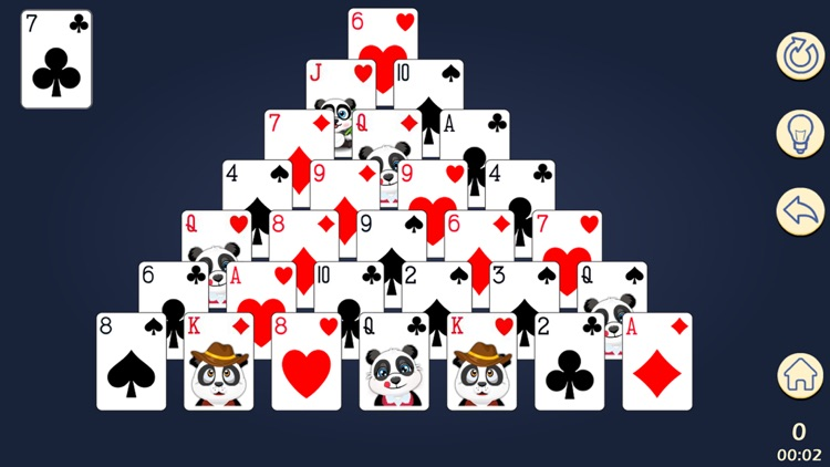 Panda Solitaire screenshot-1