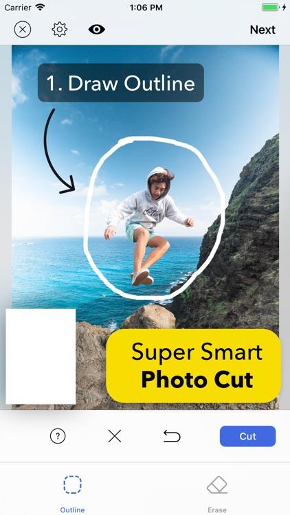 Smart Cut - Background Eraser