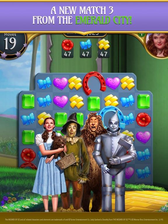 The Wizard of Oz Magic Match 3のおすすめ画像1