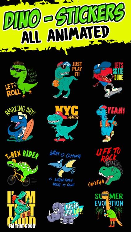 Dinosaur: Animated Stickers