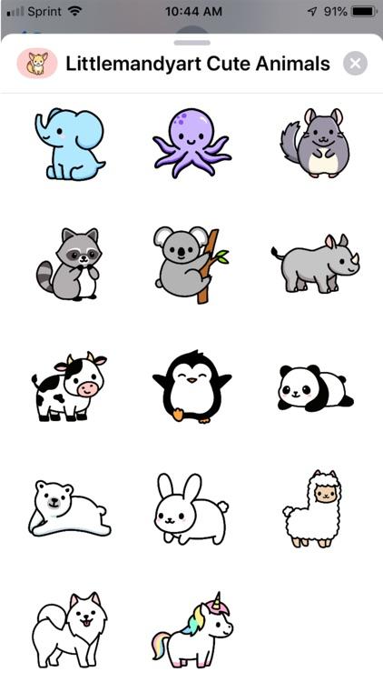 Littlemandyart Cute Animals screenshot-3