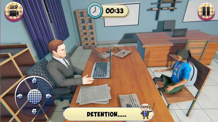 Virtual High School Girl Game screenshot-3