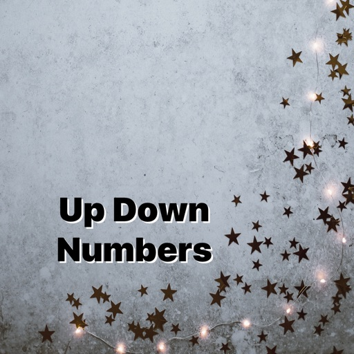 Up Down Numbers icon