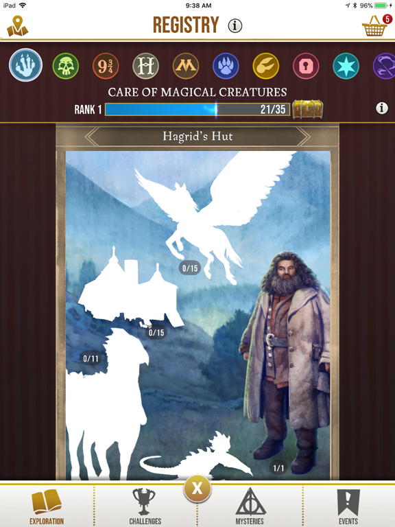 Harry Potter: Wizards Unite iPad app afbeelding 2