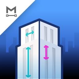 MIDDELO Buildings Measure Tape