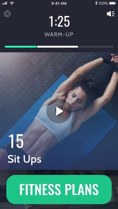 Screenshot for 30 Day Fitness Challenge∘ in Belgium App Store
