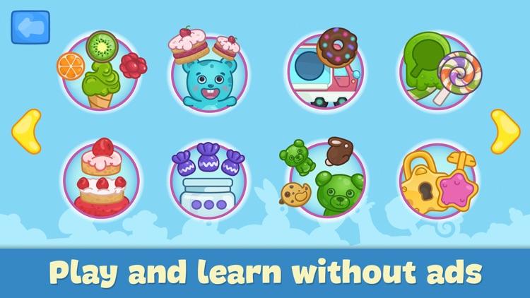 Car games for kids & toddlers screenshot-4