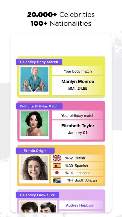 Famous: Celebrity Look Alike screenshot-5