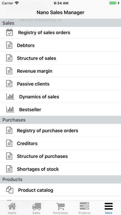 Nano Sales Manager screenshot-8
