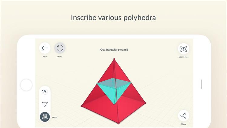 Shapes 3D - Geometry Drawing screenshot-3