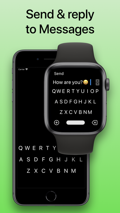 Screenshot of FlickType Keyboard App