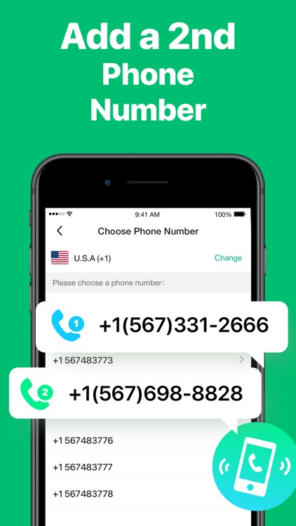 2nd Line : Second Phone Number screenshot-4