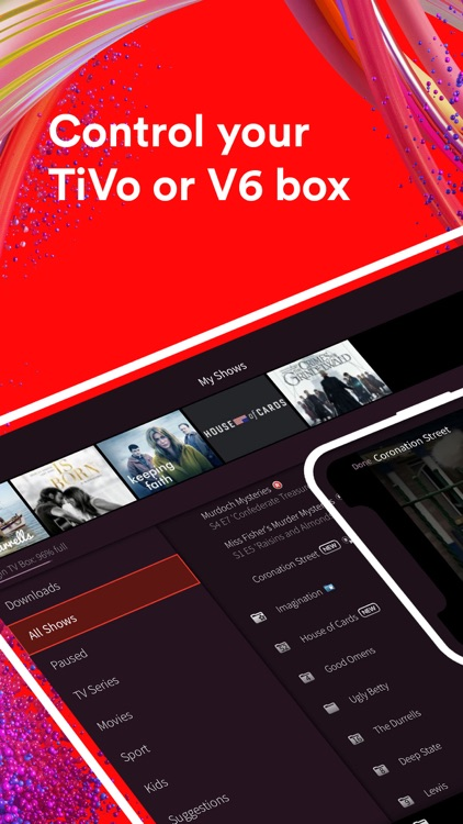 Virgin TV Control
