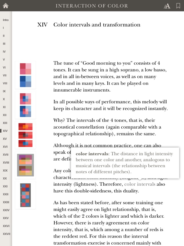 Interaction Of Color On The App Store
