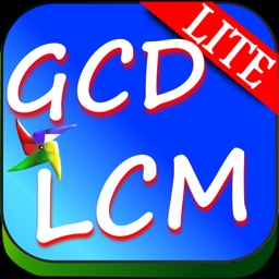 LCM GCD Prime Factor Calc Lite