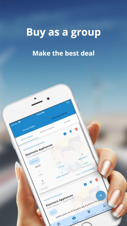 Mynyfy - Hyperlocal, Group Buy screenshot-1