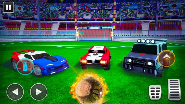 Turbo Cars League Soccer Mania screenshot-4