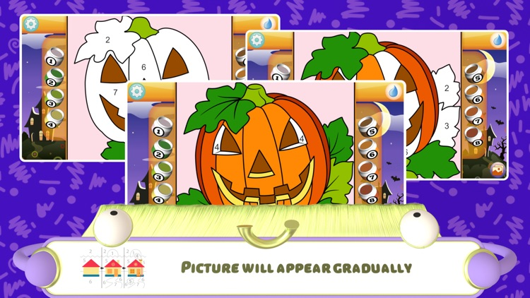 Color by Numbers - Halloween + screenshot-4