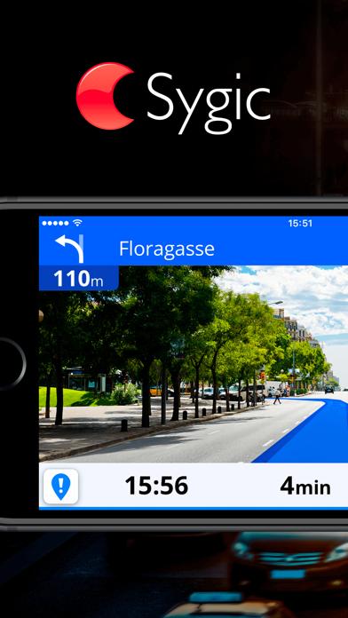 Screenshot Sygic Europe - Navigation GPS