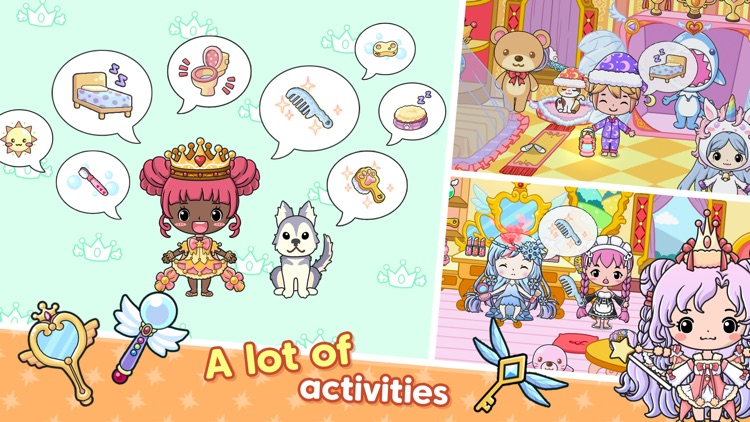 Jibi Land : Princess Castle screenshot-5