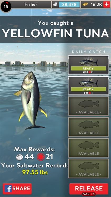 Rapala Fishing - Daily Catch screenshot-3