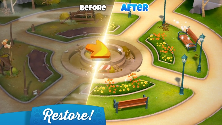 Dogs Home: Design and Puzzles screenshot-3