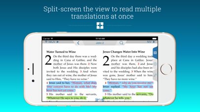 NIV Study Bible Screenshot