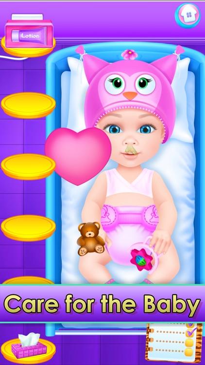 Baby & Family Simulator Care screenshot-7