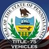 PA Vehicle Code Title 75