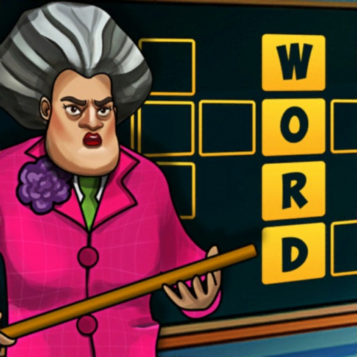Scary Teacher : Word Game
