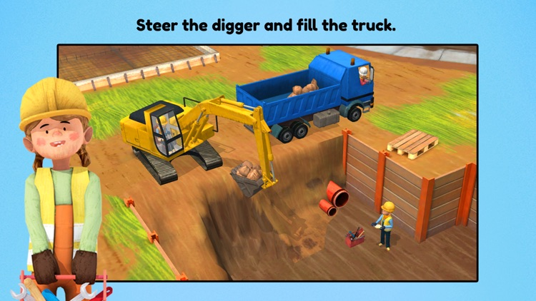 Little Builders for Kids screenshot-3