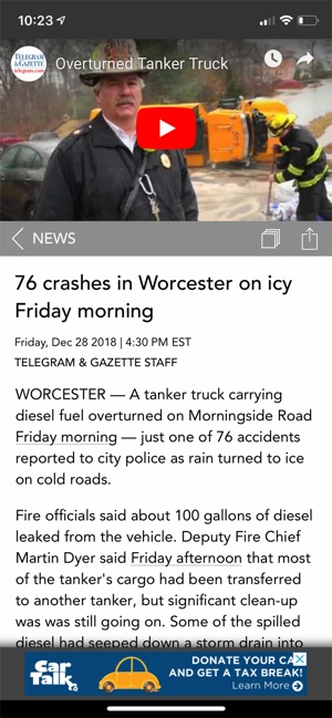 Worcester Telegram & Gazette on the App Store
