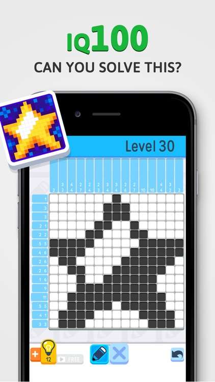 Nonogram - IQ Logic Pic Puzzle screenshot-2
