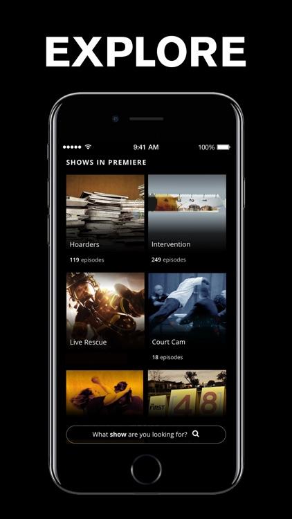 A&E - TV Shows & Full Episodes screenshot-4