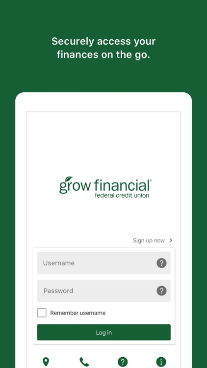 Grow Mobile Banking screenshot-1