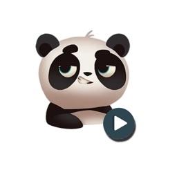 Panda Stickers (Animated)