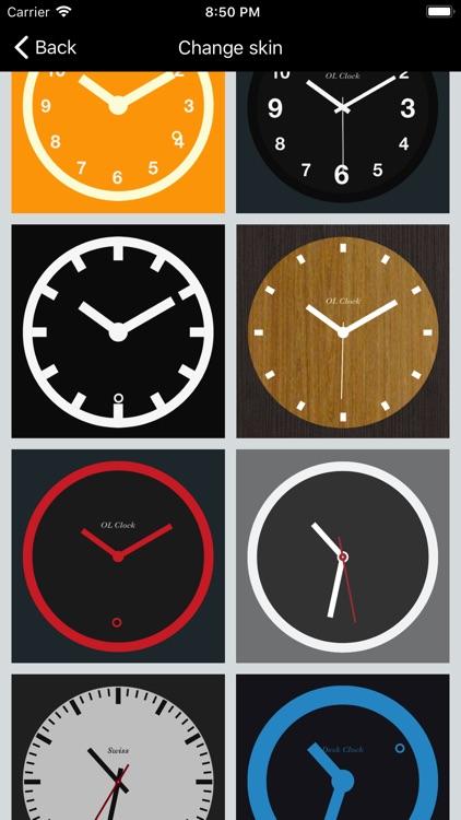 Desk Clock - Analog Clock screenshot-3