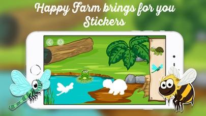 Happy Farm - Stickersのおすすめ画像1
