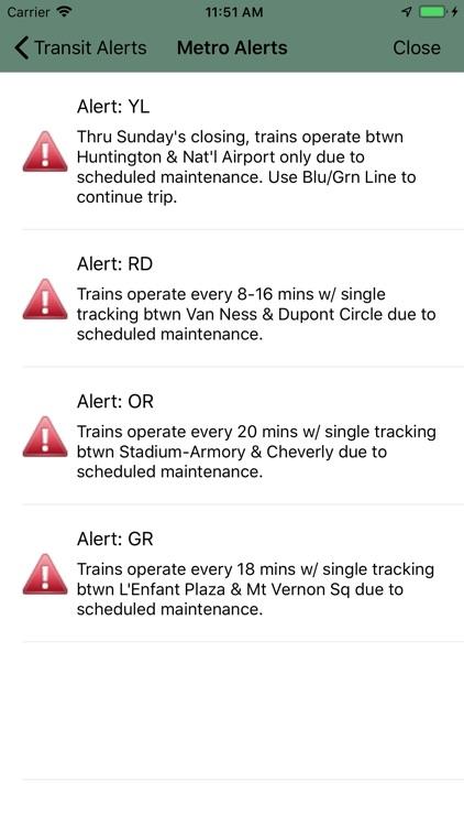 MetroTransit DC screenshot-5