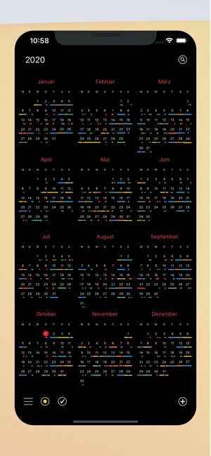 ‎Calendar 366: Termine & To-Dos Screenshot