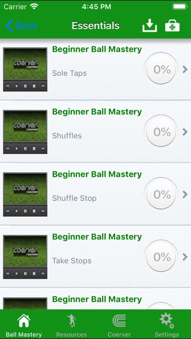 Coerver Soccer Skills at Home Screenshots